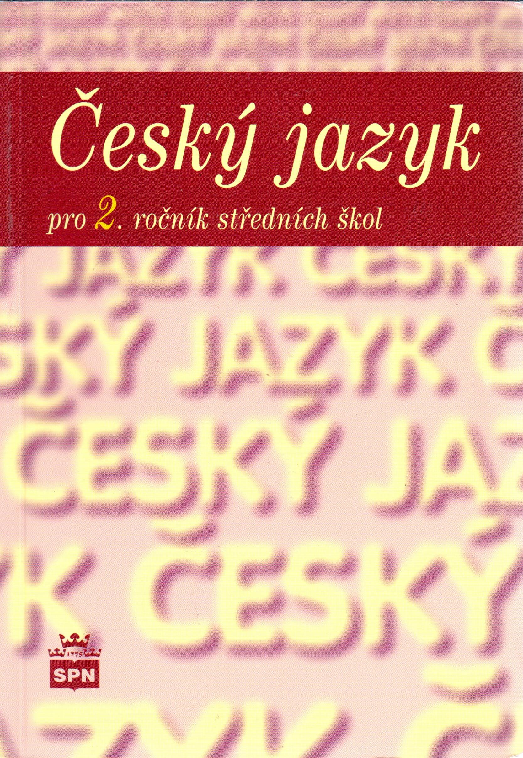 Český jazyk pro 2. ročník středních škol - Náhled učebnice