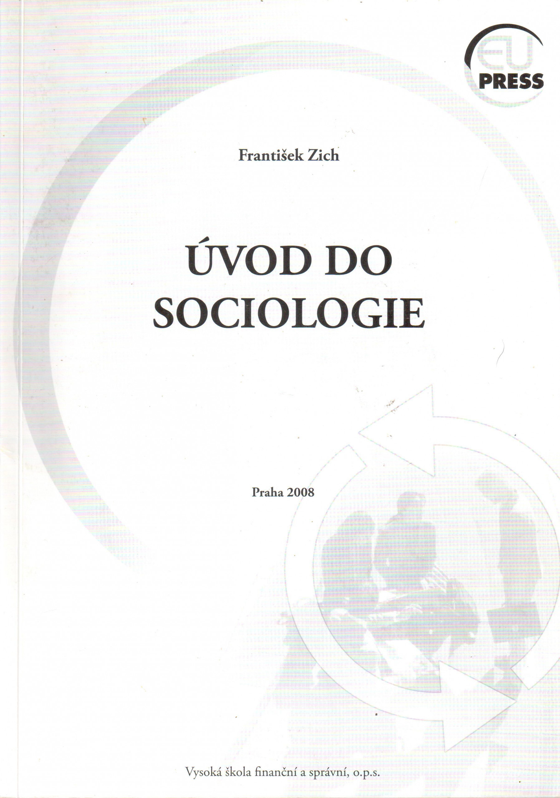 Úvod do sociologie - Náhled učebnice