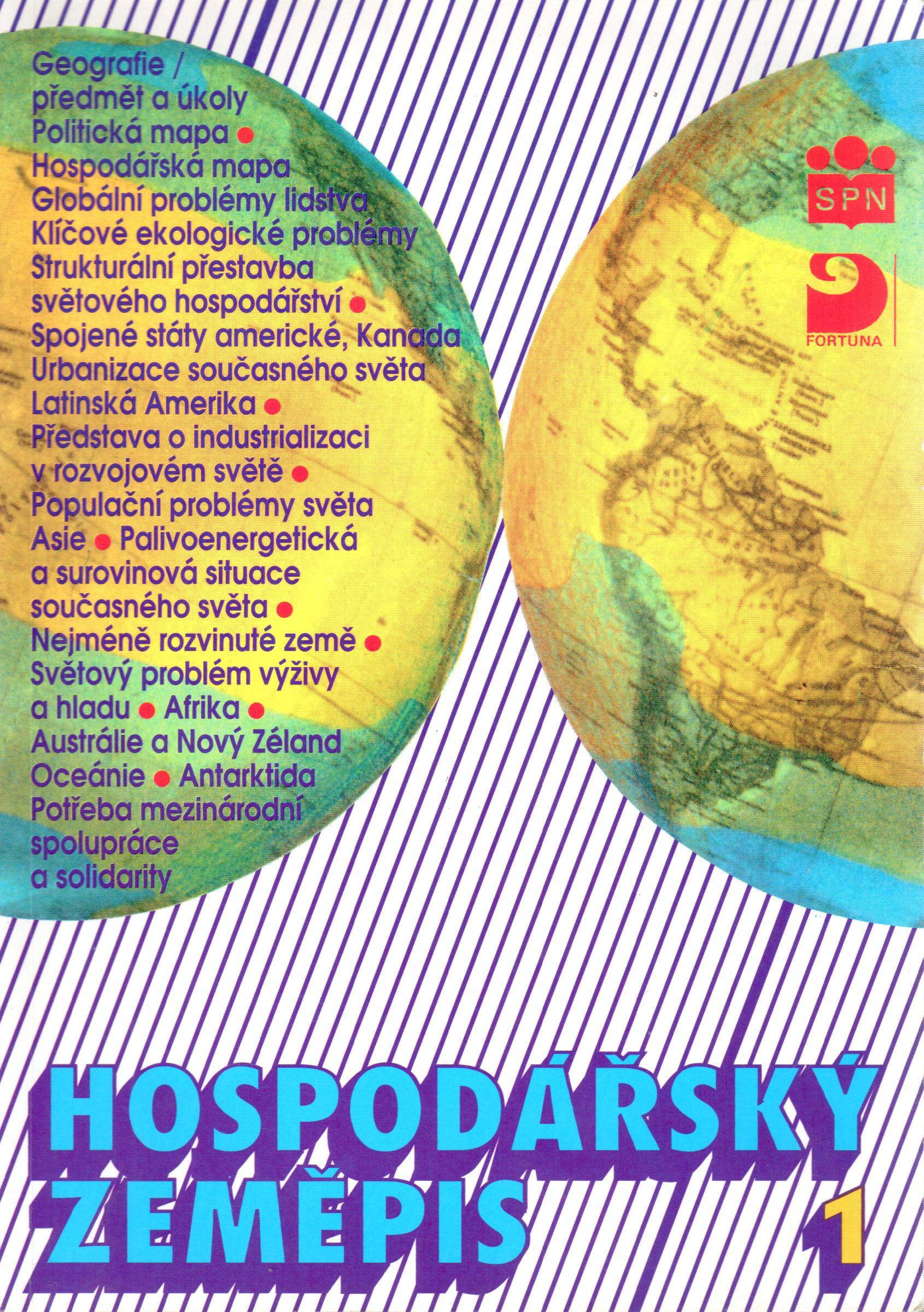 Hospodářský zeměpis 1: Pro obchodní akademie a pro obchodní školy - Náhled učebnice
