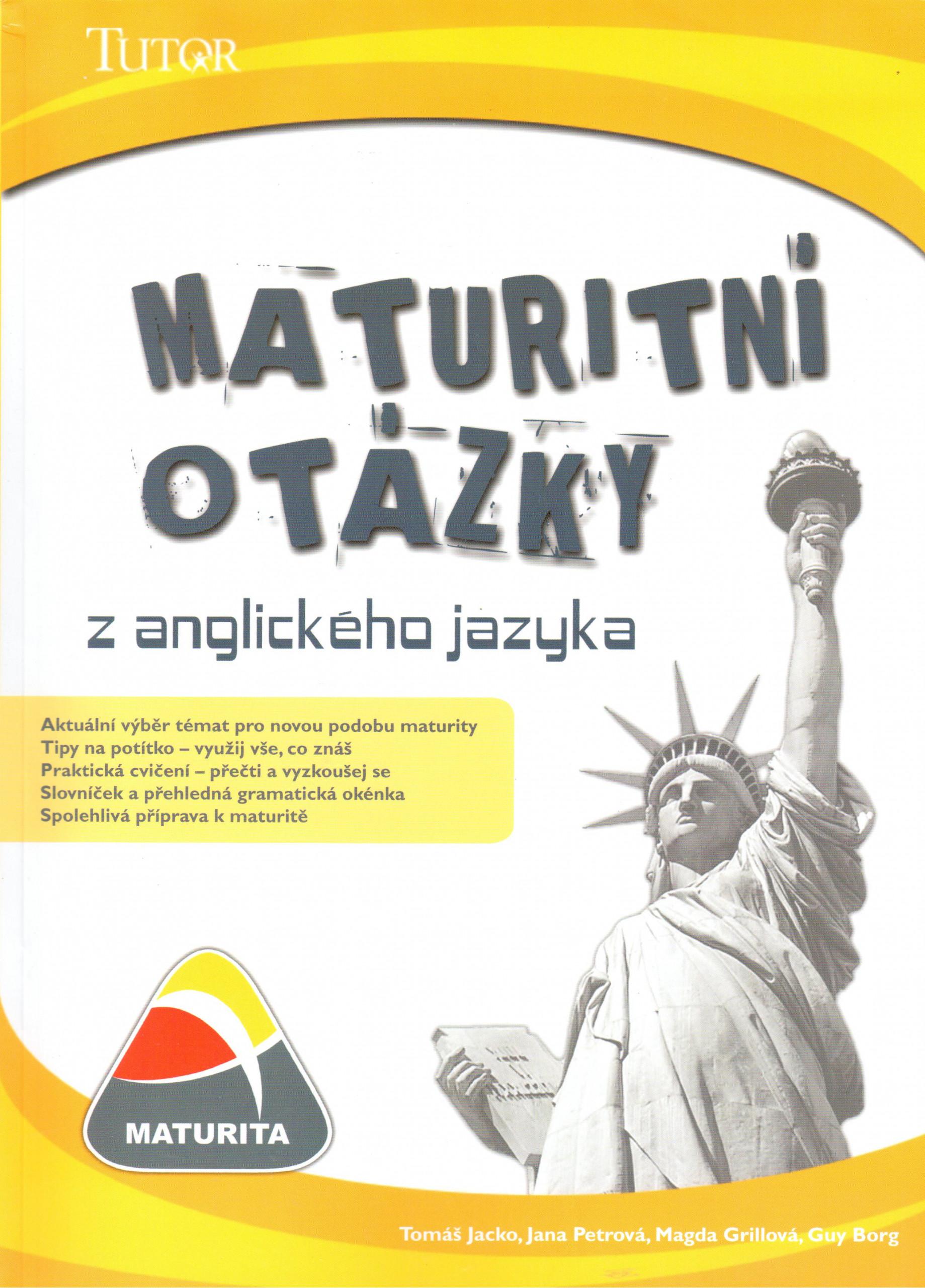 Maturitní otázky z anglického jazyka - Náhled učebnice