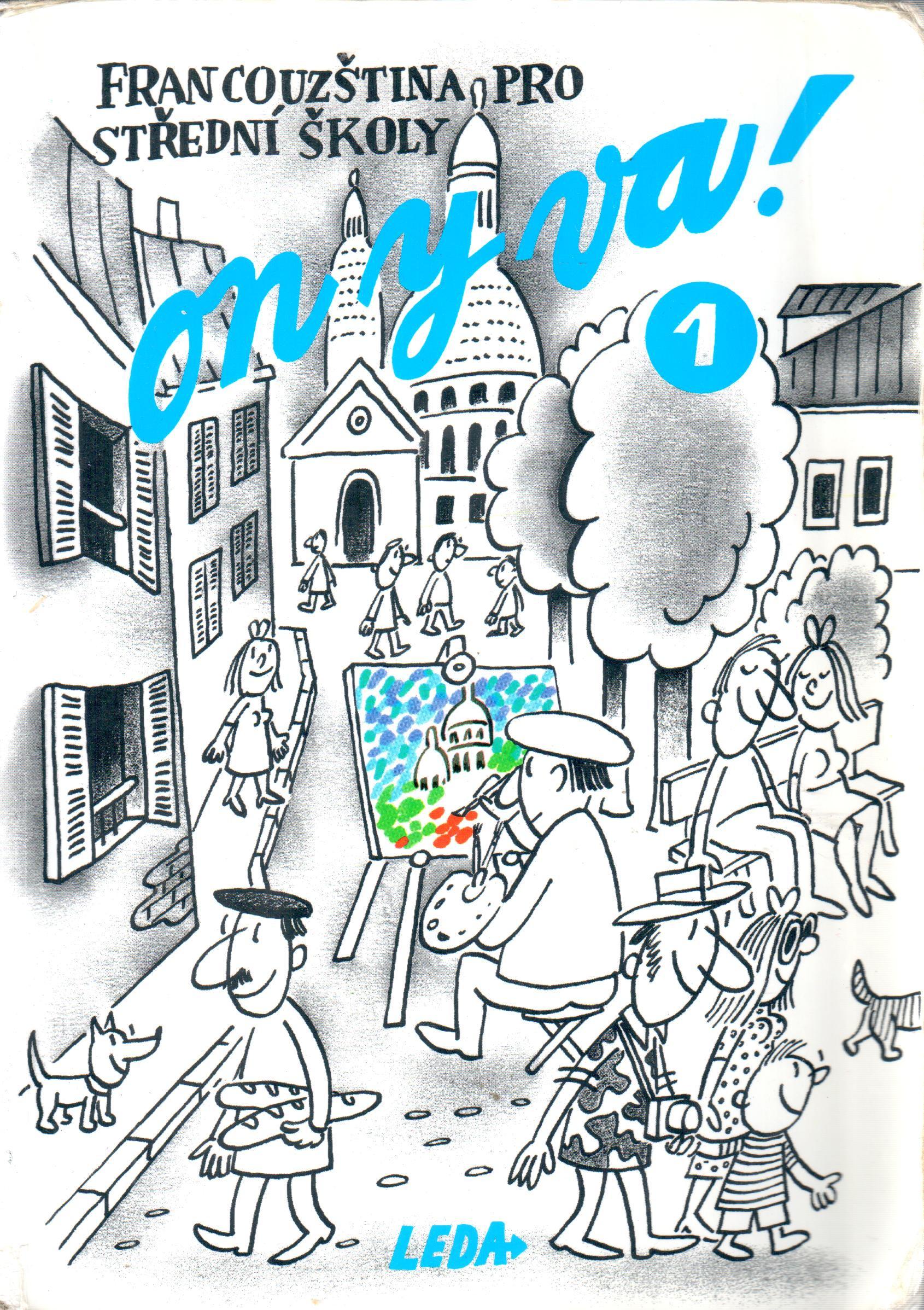 On y va! 1 (učebnice) - Náhled učebnice