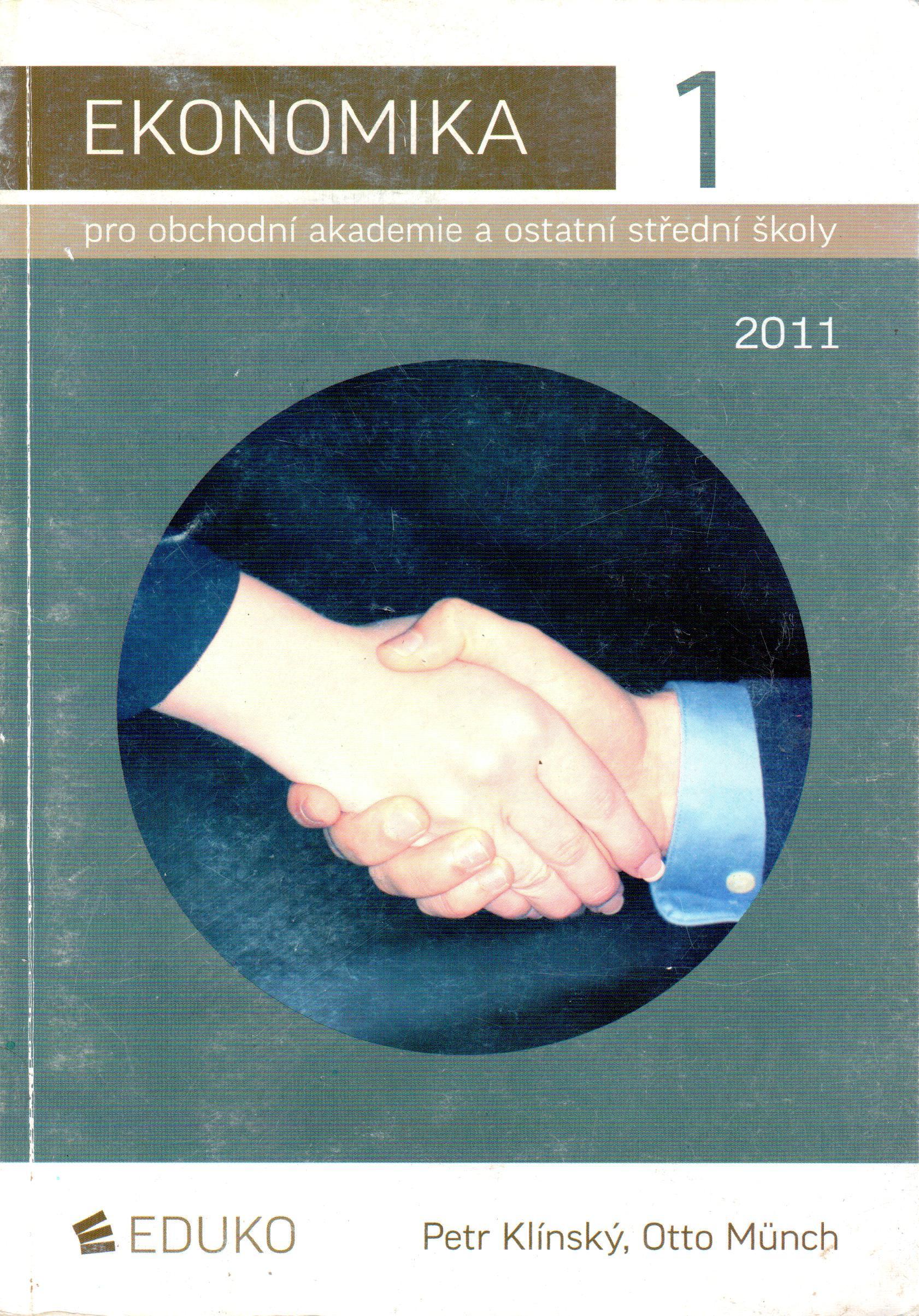 Ekonomika 1 pro obchodní akademie a ostatní střední školy - Náhled učebnice