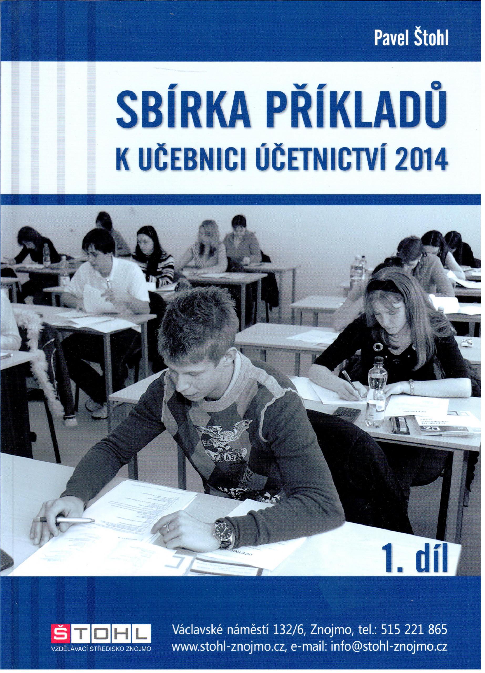 Sbírka příkladů k Učebnici účetnictví 2014 (1. díl) - Náhled učebnice