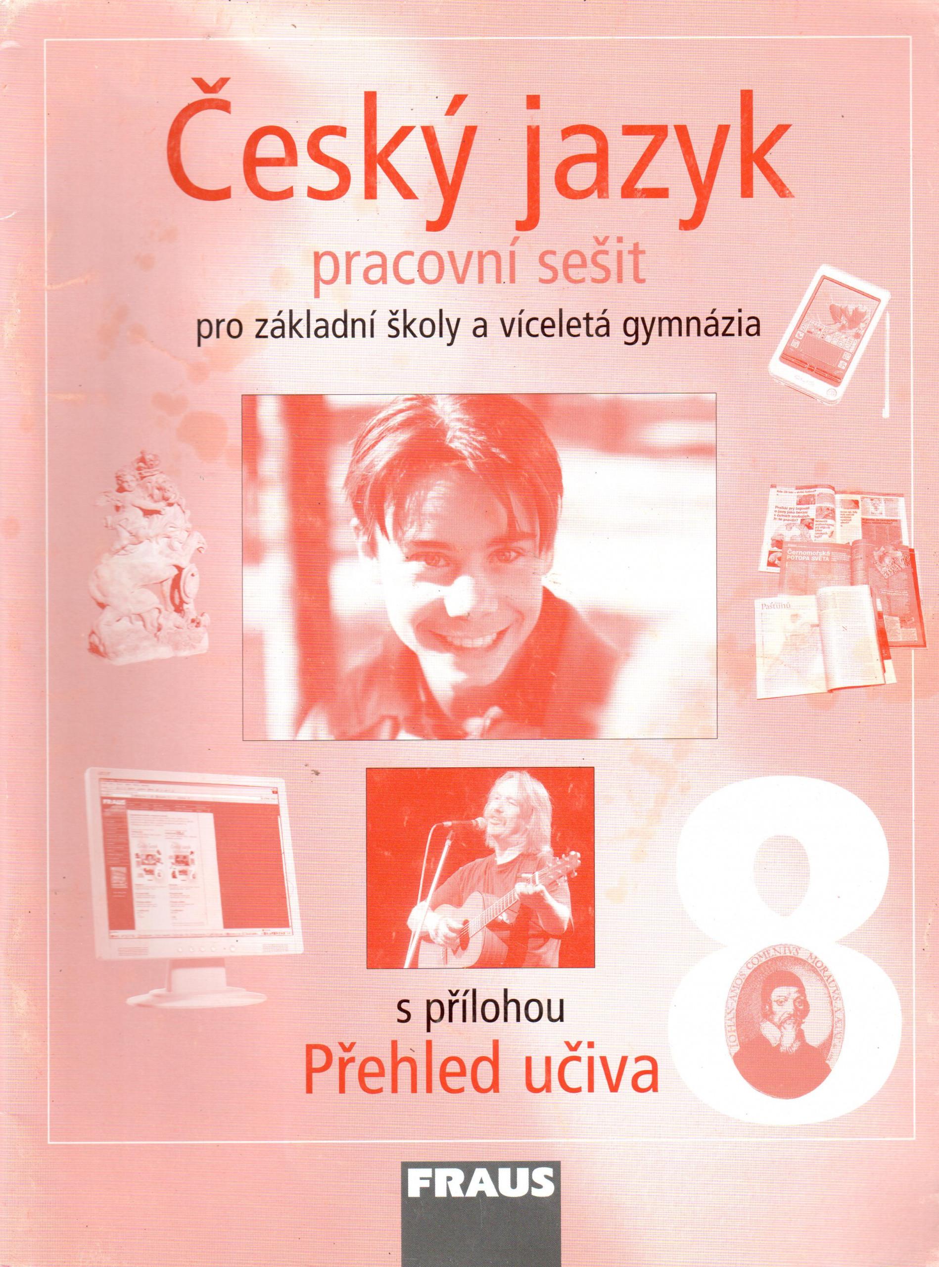 Český jazyk 8 pro ZŠ a víceletá gymnázia (pracovní sešit) - Náhled učebnice