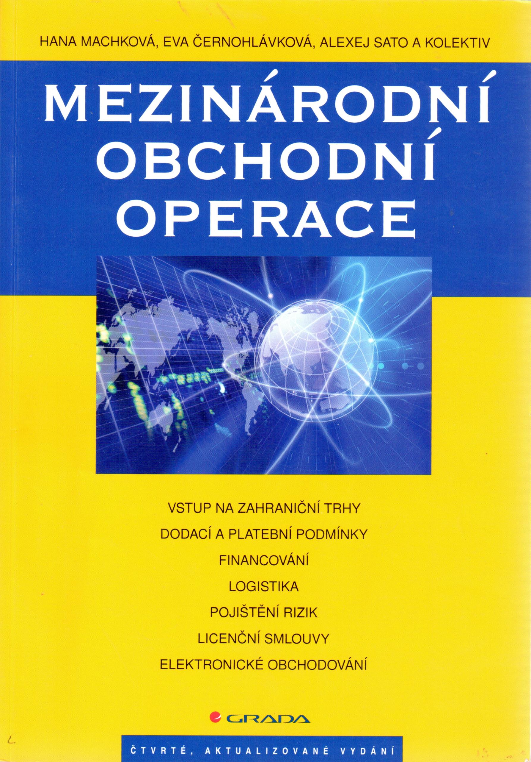 Mezinárodní obchodní operace - Náhled učebnice