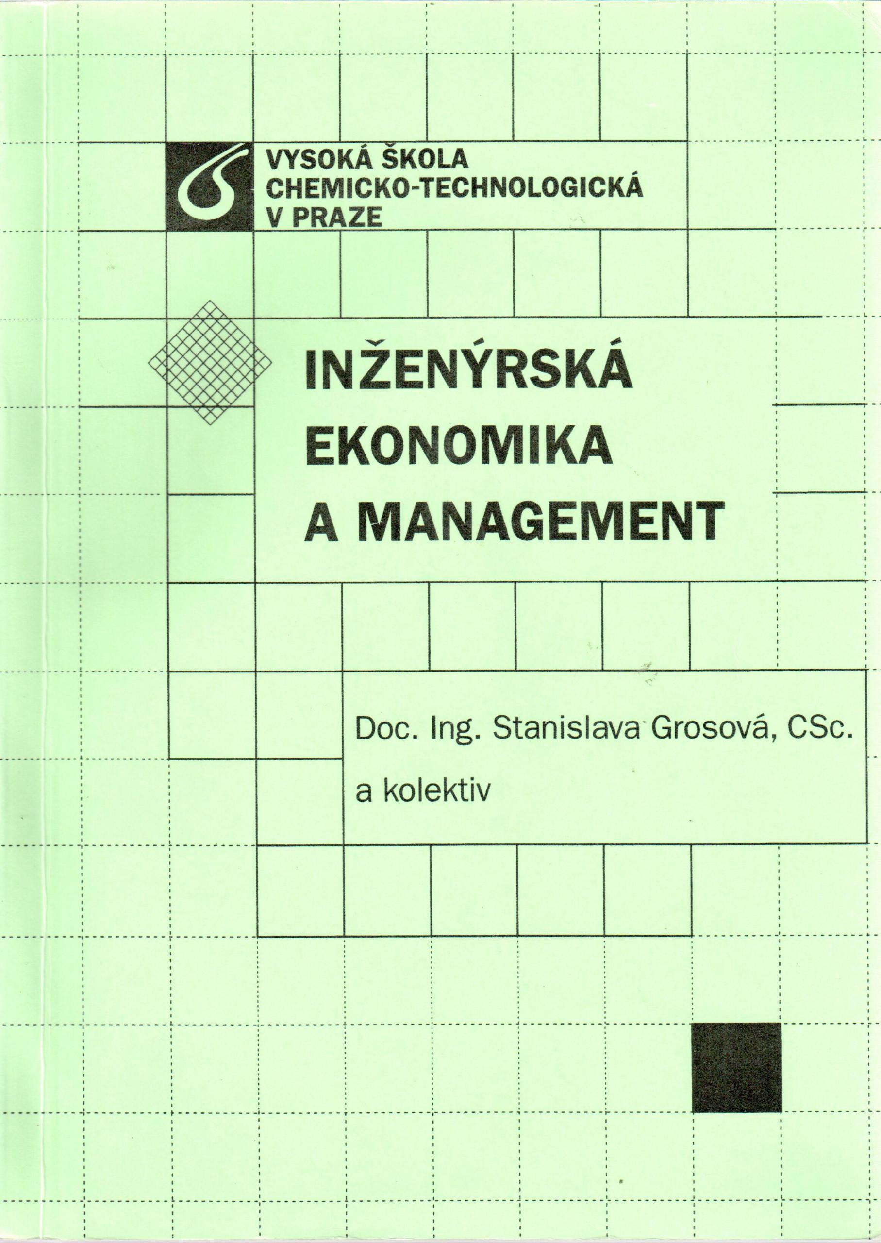 Inženýrská ekonomika a management - Náhled učebnice