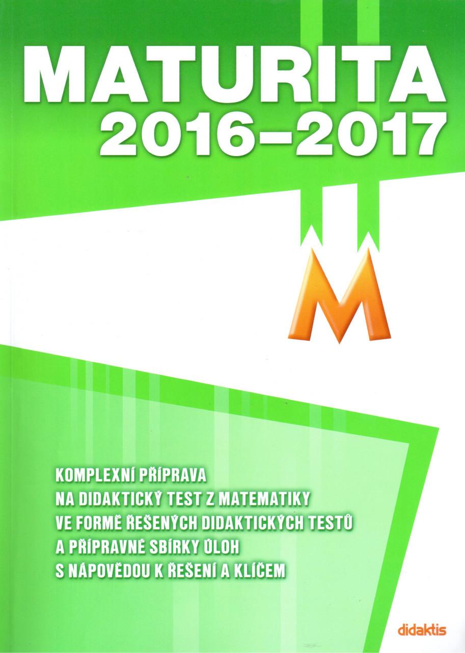 Maturita 2016–2017 z matematiky