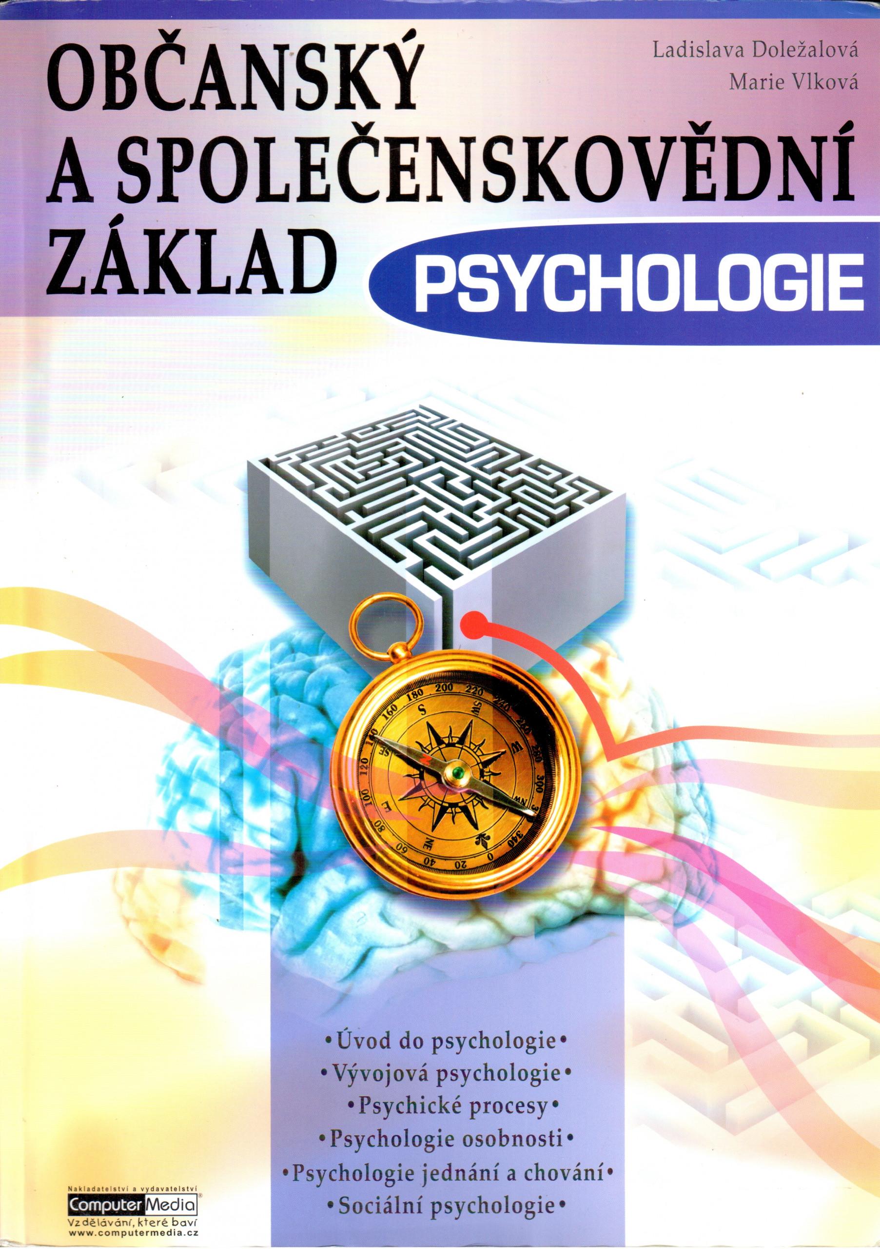 Občanský a společenskovědní základ, Psychologie - Náhled učebnice