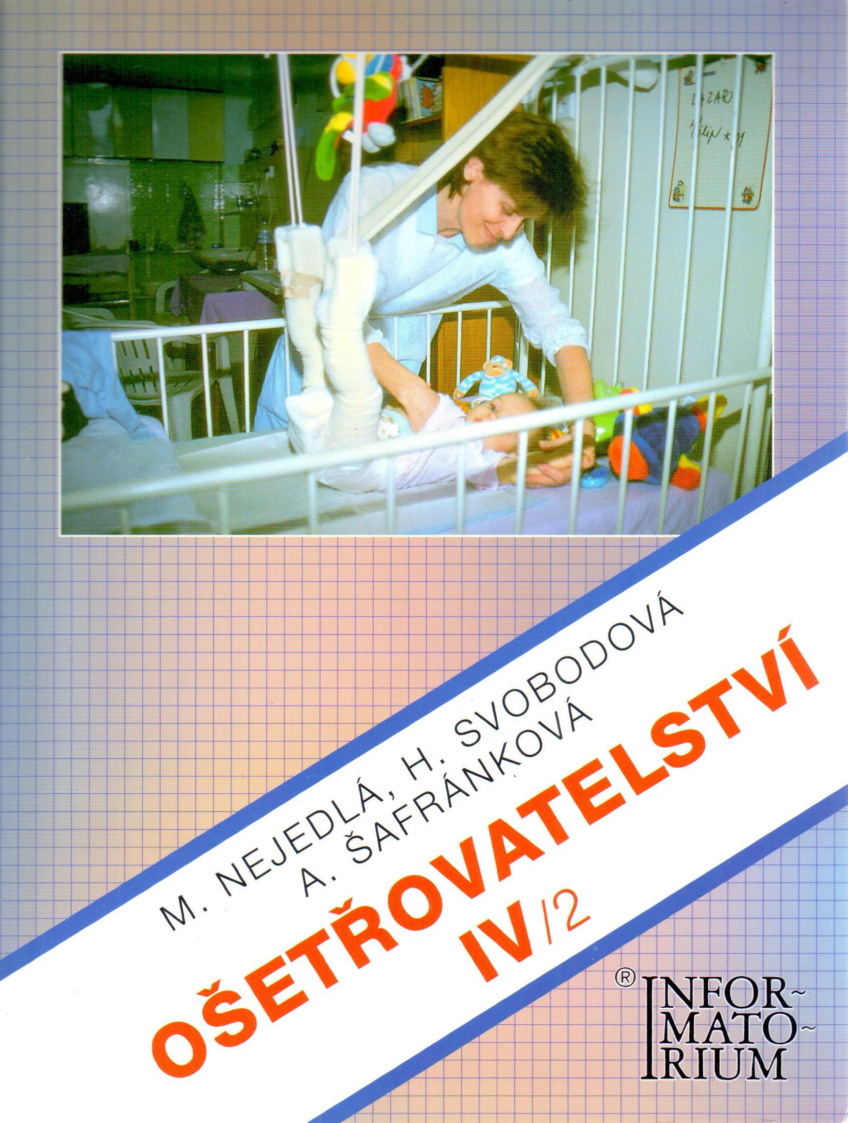 Ošetřovatelství IV/2 - Náhled učebnice