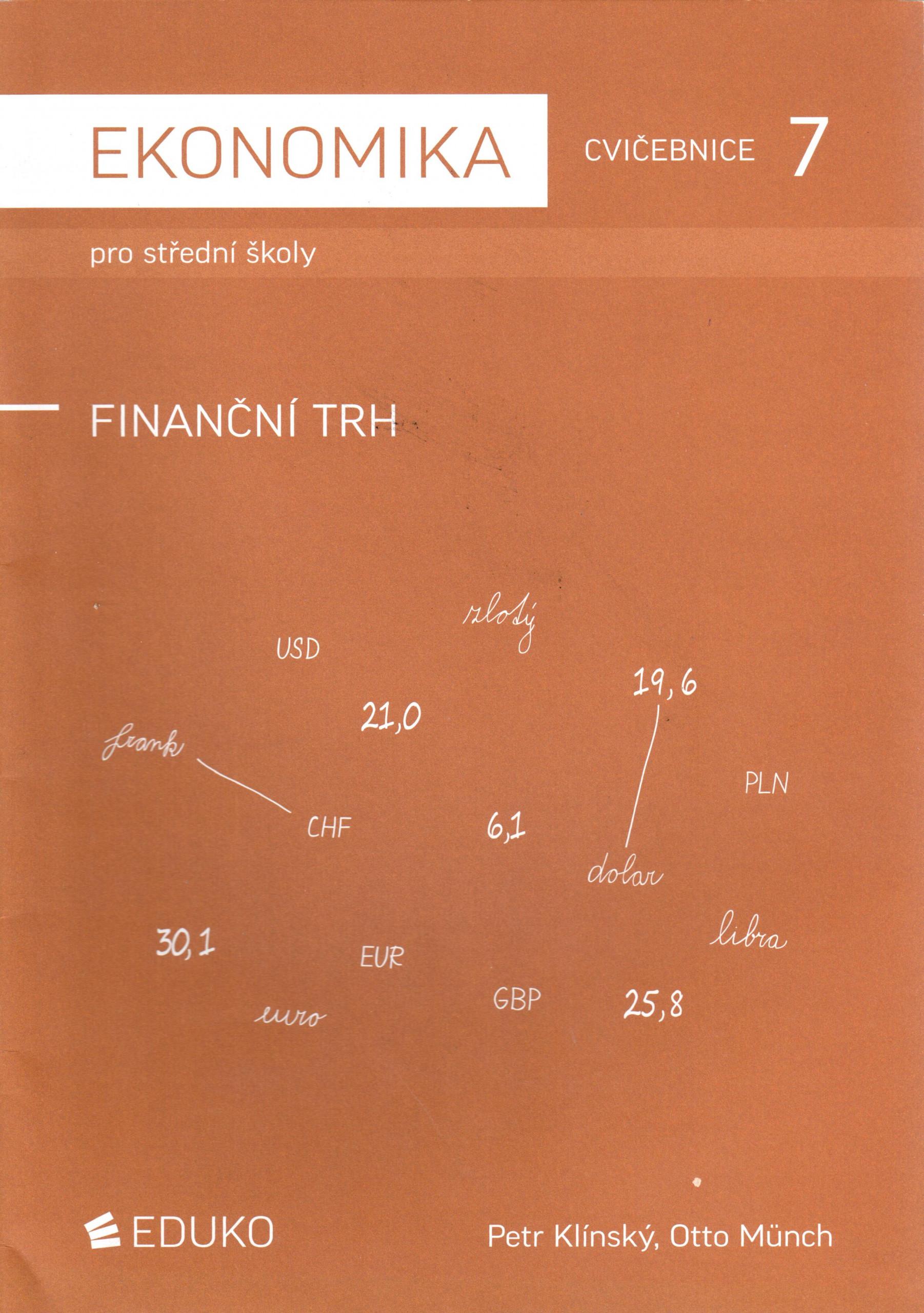 Ekonomika pro střední školy 7: Finanční trh (cvičebnice) - Náhled učebnice