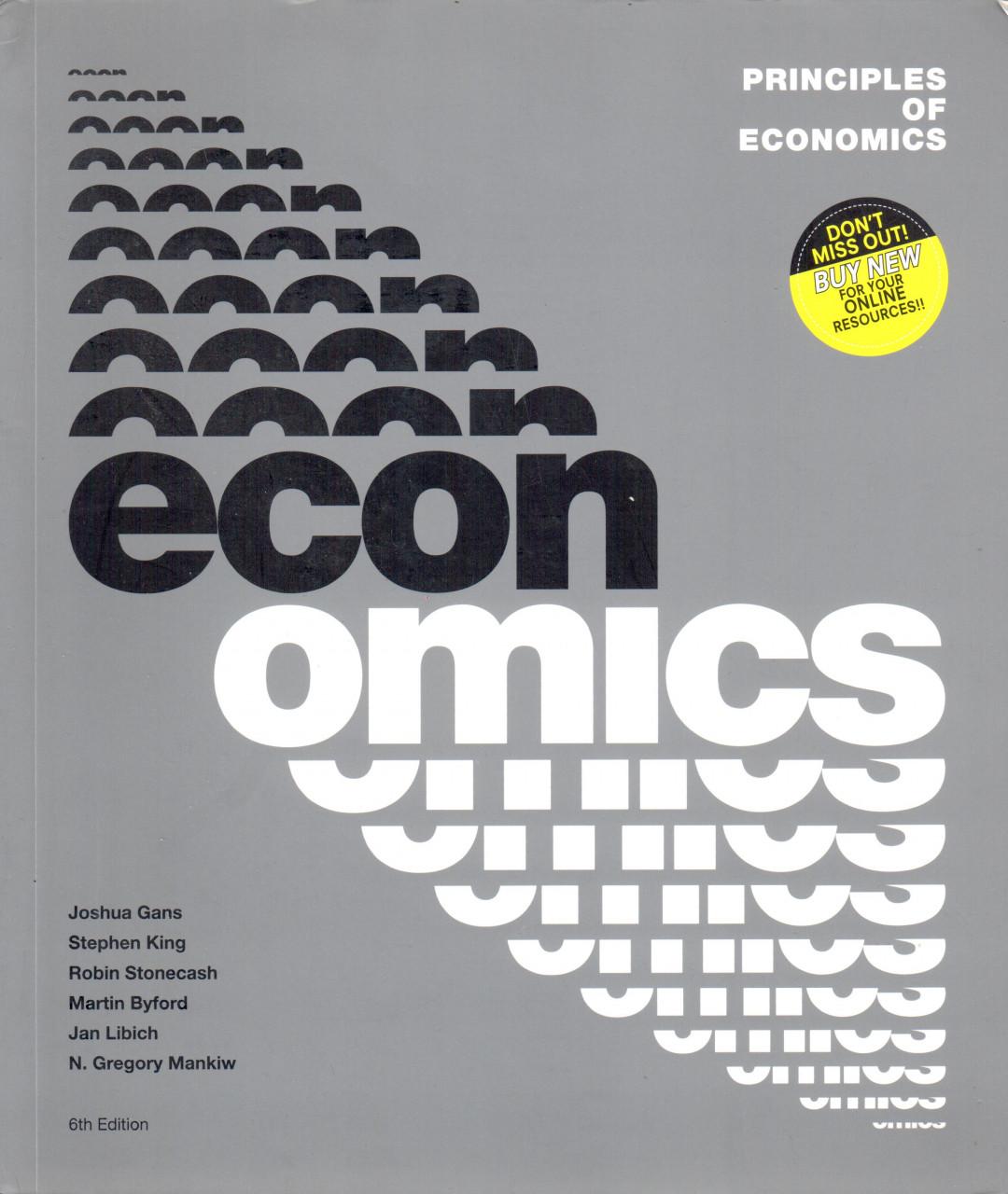 Principles of economics (6. vydání)