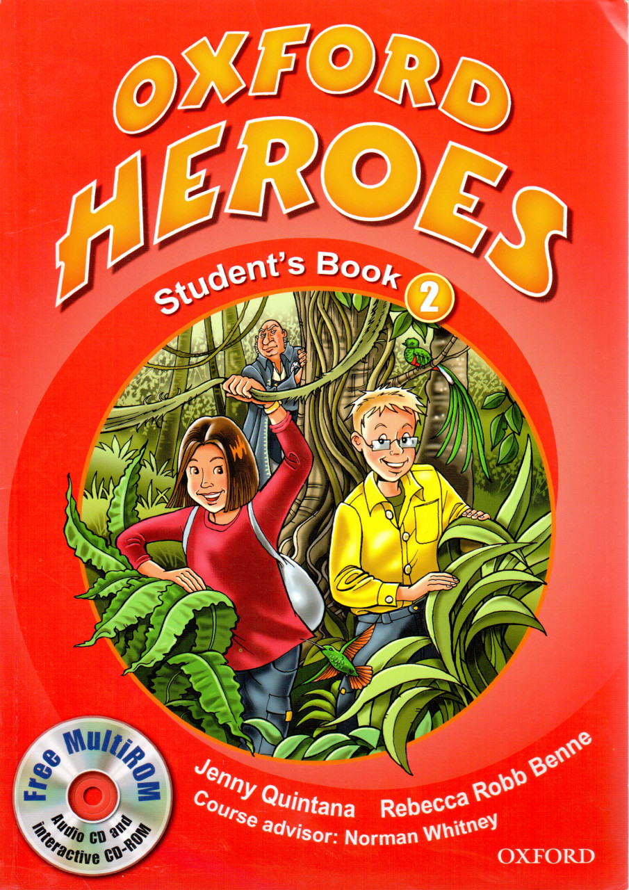 Oxford Heroes 2: Student's Book and MultiROM Pack