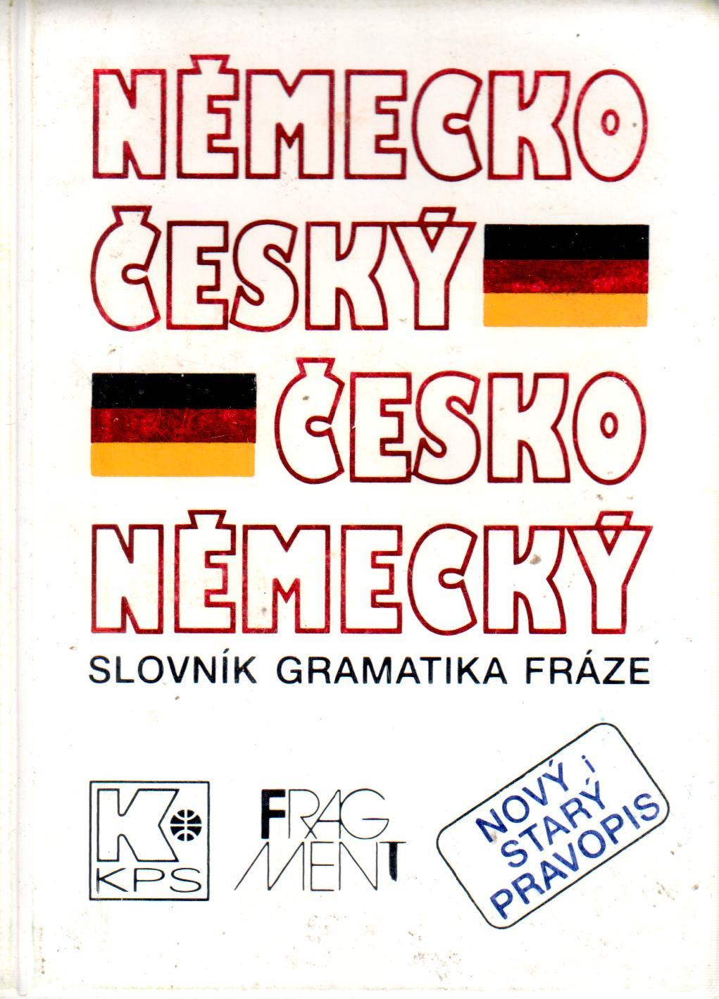 Velký kapesní německo-český a česko-německý slovník - Náhled učebnice