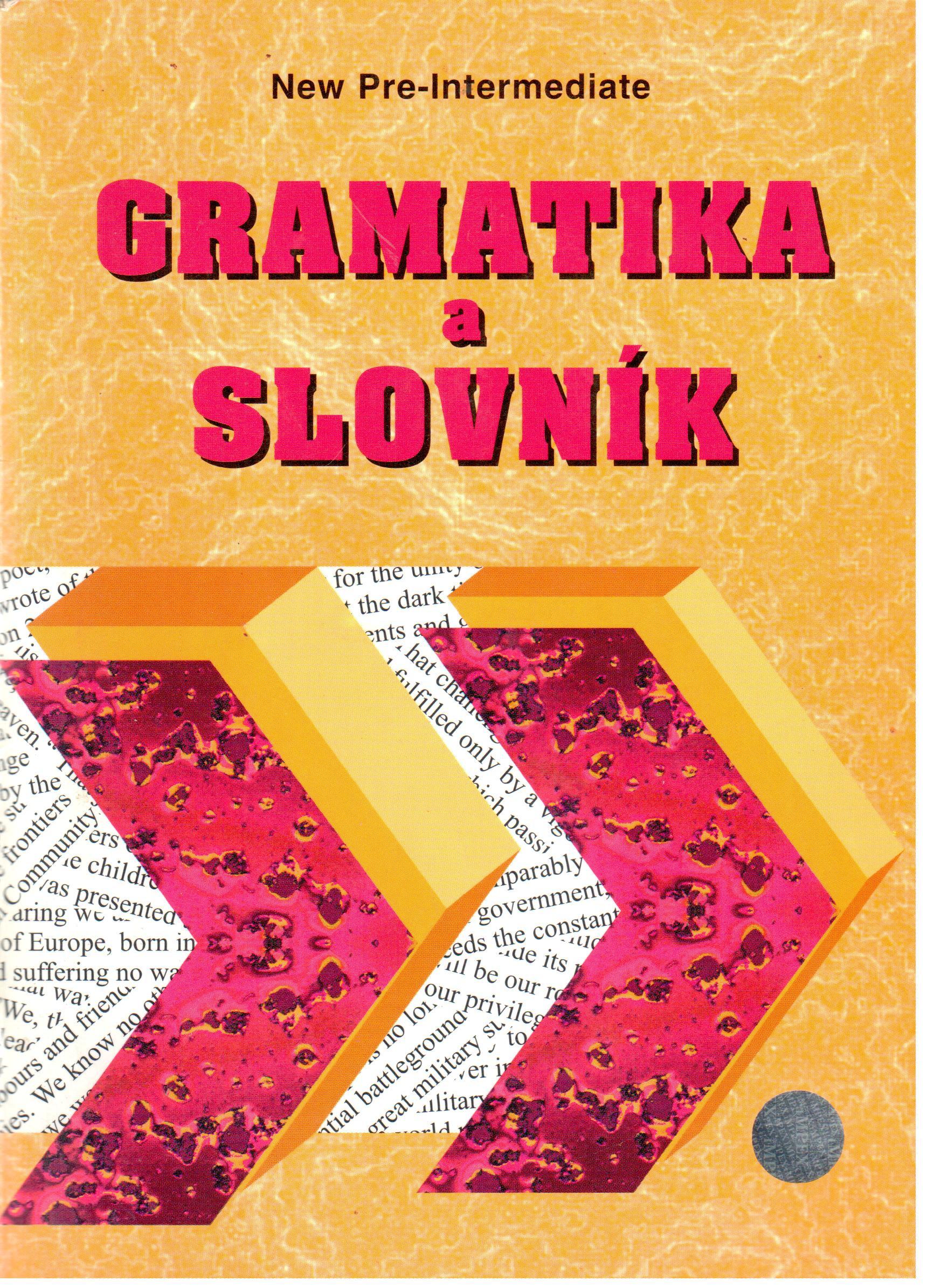New Headway: Pre-intermediate Gramatika a slovník - Náhled učebnice