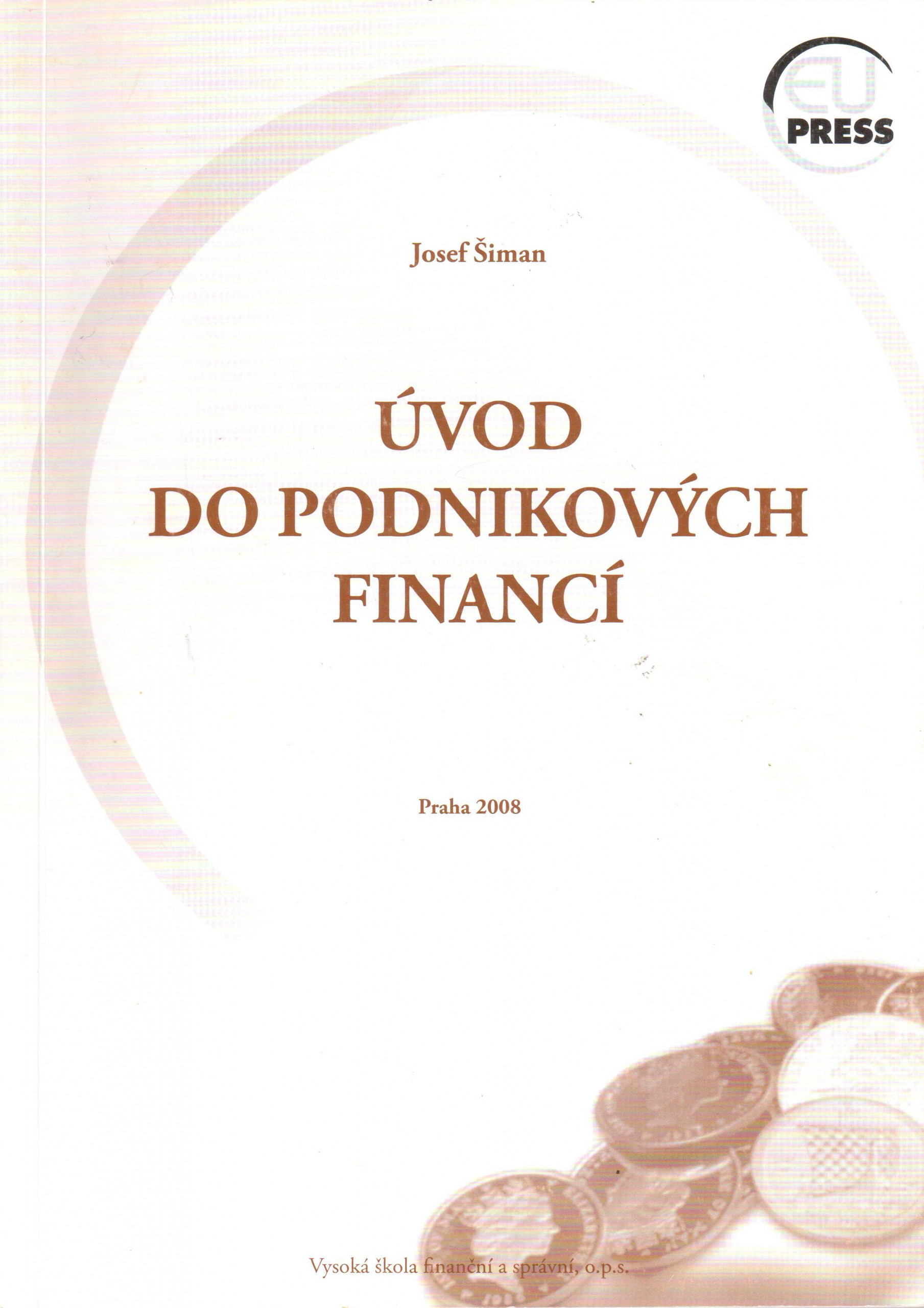 Úvod do podnikových financí - Náhled učebnice
