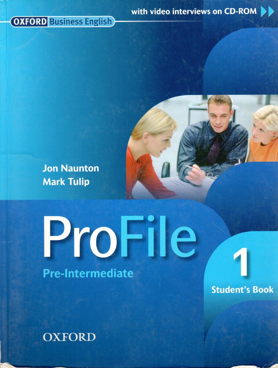 Profile 1 pre-intermediate - student´s book