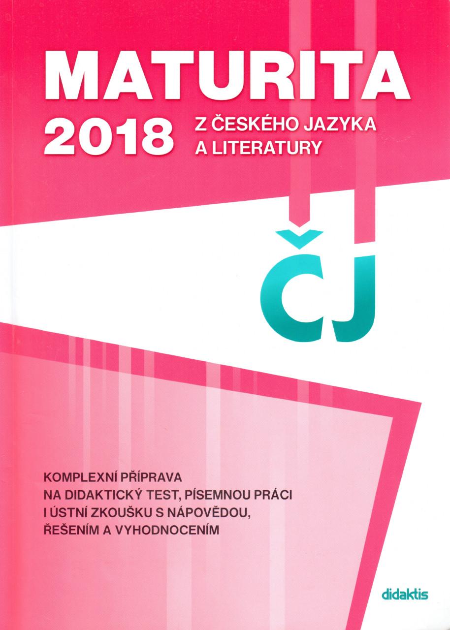 Maturita z českého jazyka a literatury 2018