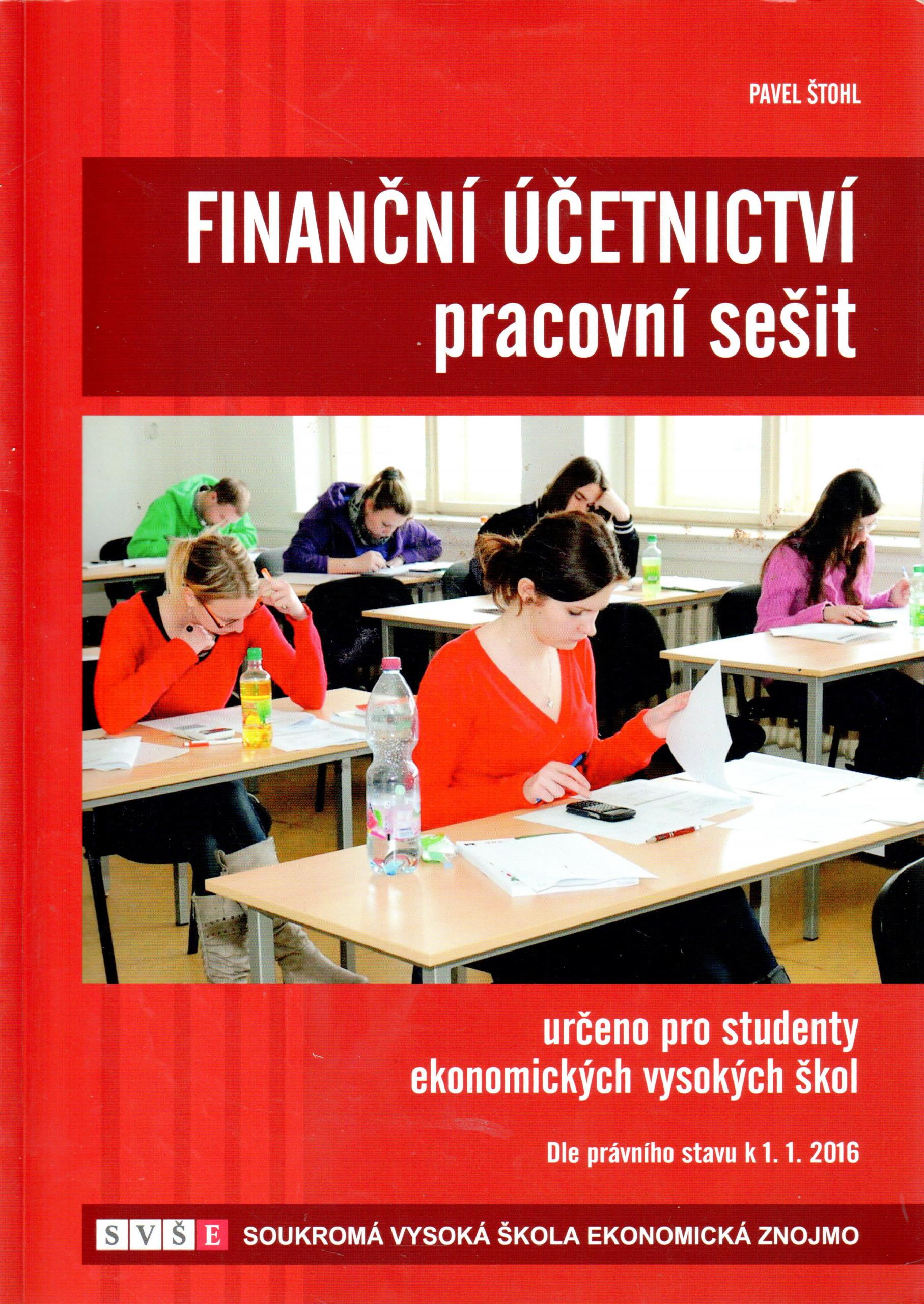 Finanční účetnictví (pracovní sešit) - Náhled učebnice