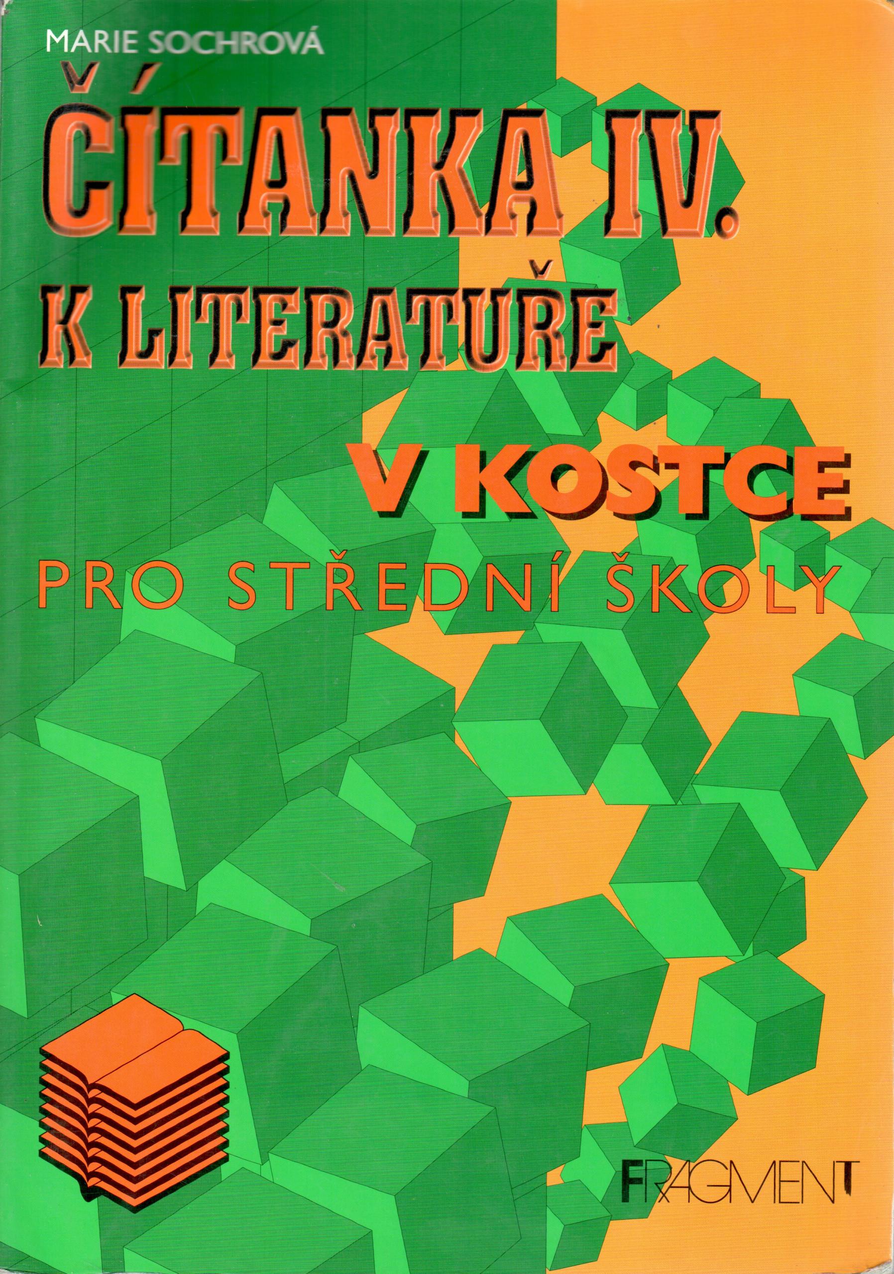 Čítanka k Literatuře v kostce IV. pro střední školy - Náhled učebnice