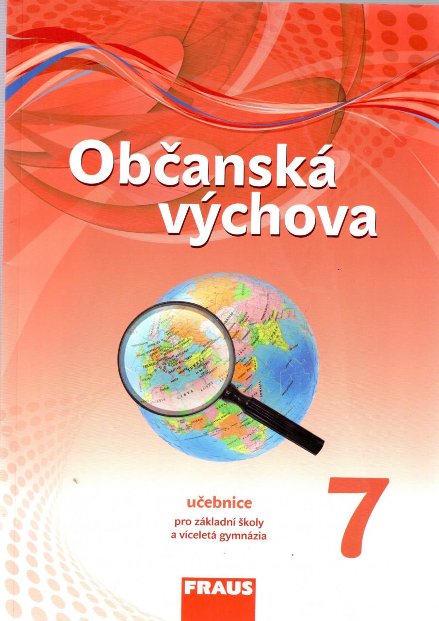 Občanská výchova pro 7.r. ZŠ - učebnice