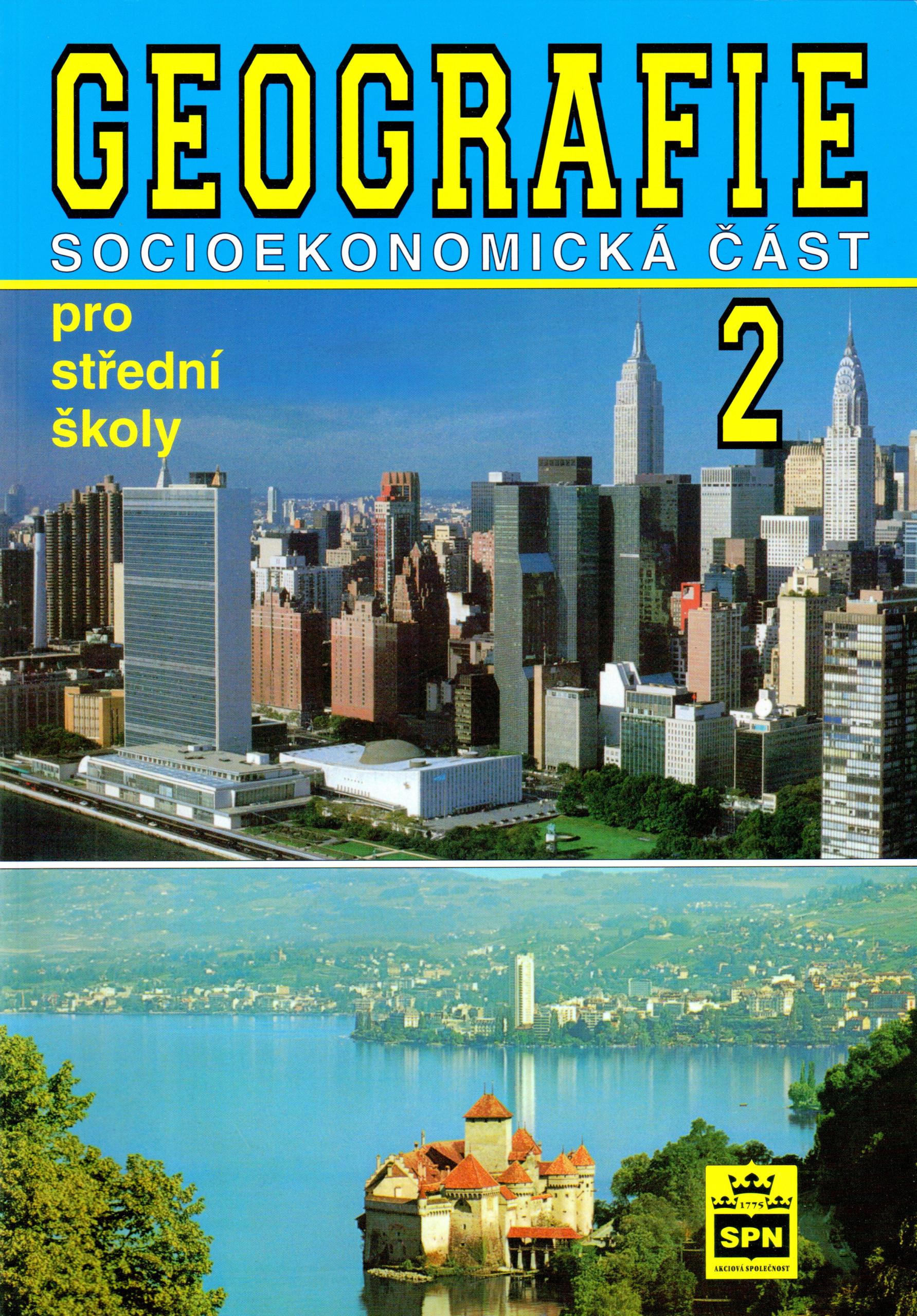 Geografie 2: Socioekonomická část - Náhled učebnice