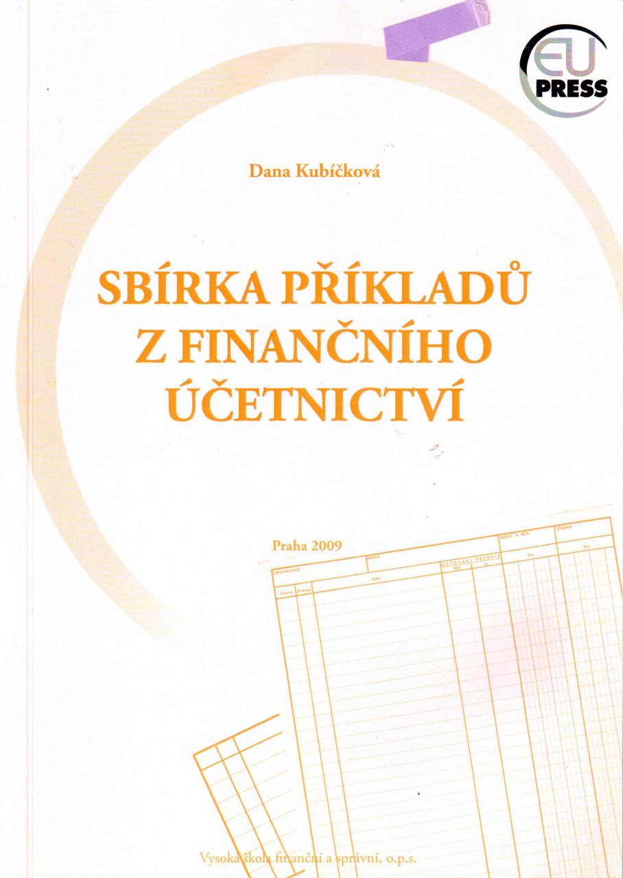 Sbírka příkladů z finančního účetnictví