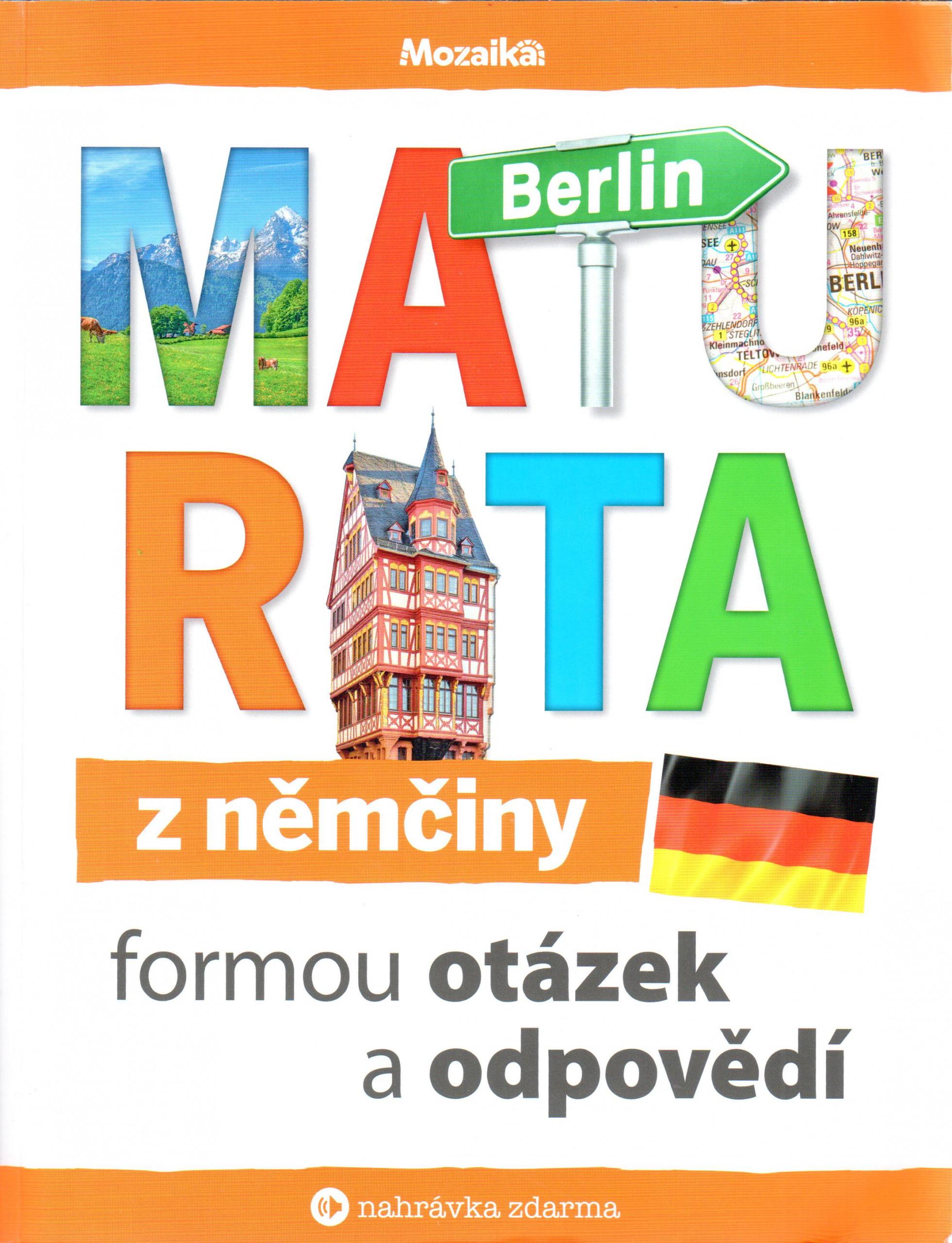 Maturita z němčiny formou otázek a odpovědí - Náhled učebnice