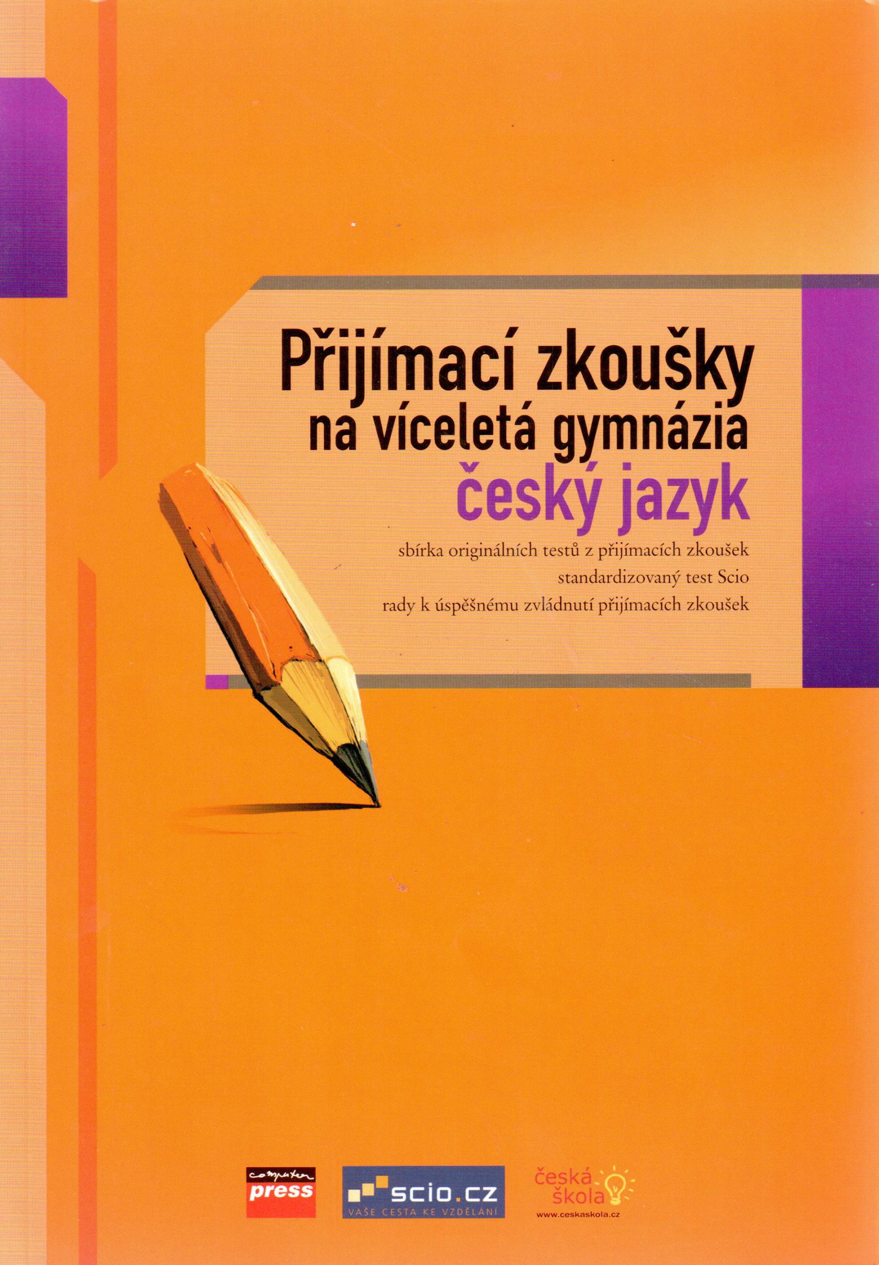 Přijímací zkoušky na víceletá gymnázia: Český jazyk - Náhled učebnice