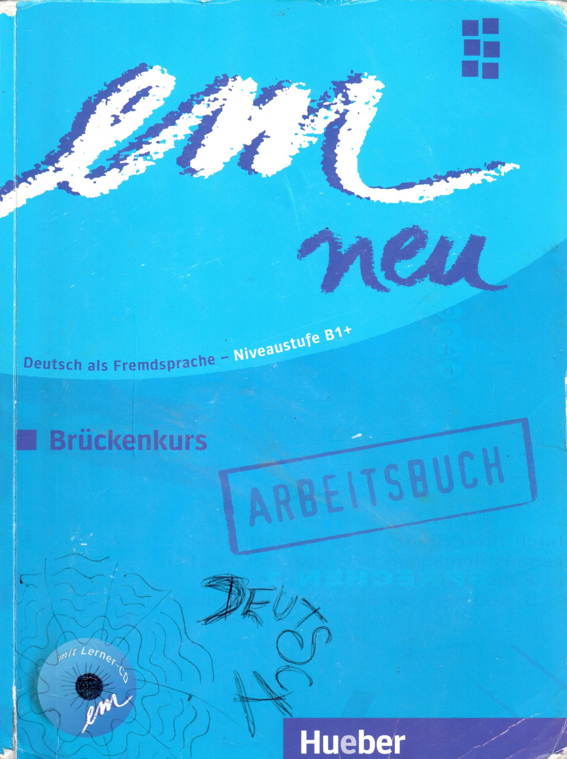 em neu 2008: Brückenkurs B1+ Arbeitsbuch - Náhled učebnice