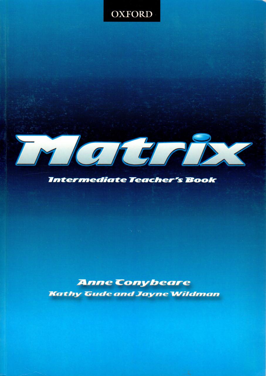 Matrix: Intermediate (Teacher's book)