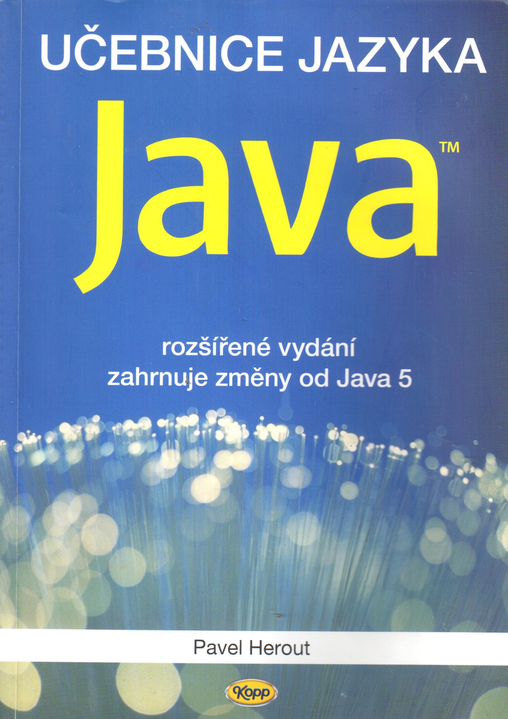 Učebnice jazyka Java - Náhled učebnice