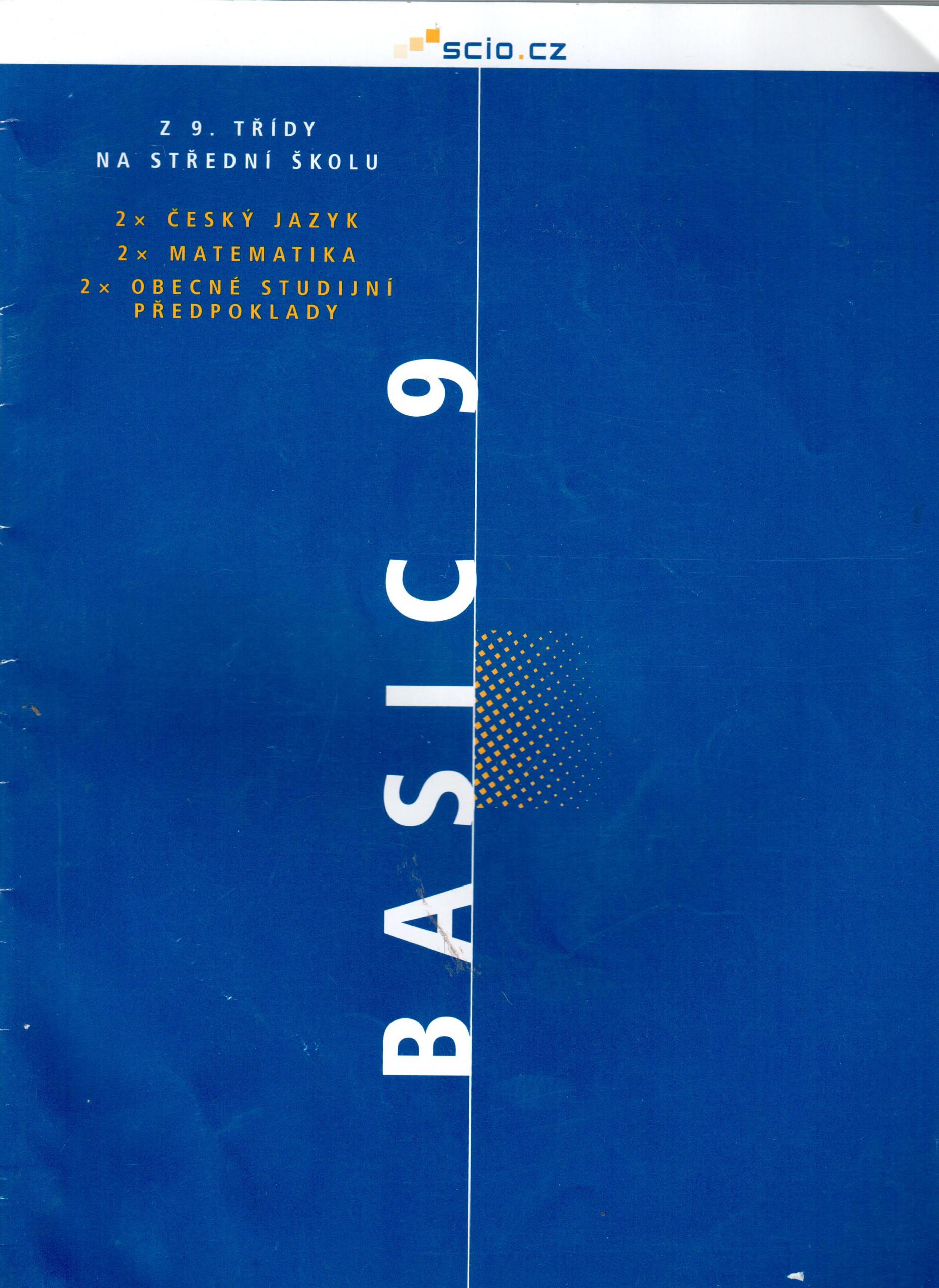Z 9. třídy na střední školu : Scio BASIC 9 sada testů - Náhled učebnice