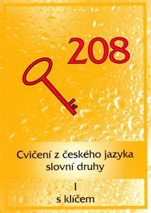 Cvičení z českého jazyka, slovní druhy 1 s klíčem