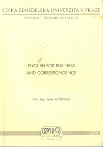 English for business and corespondence