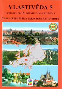 Vlasivěda 5,  Česká republika jako součást Evropy, učebnice pro 5. ročník základní školy