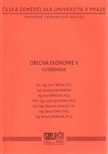 Obecná ekonomie II, cvičebnice