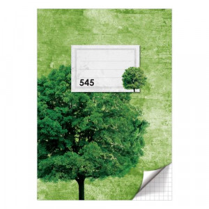 Sešit A5, 40 listů - čtverečkovaný 545