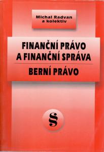 Finanční právo a finanční správa - berní právo