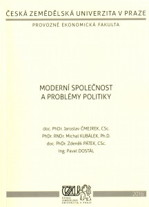 Moderní společnost a problémy politiky (kapitoly z politologie)