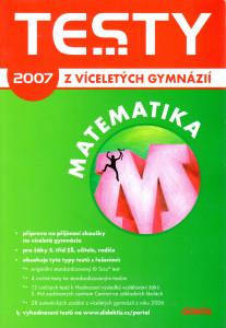 Testy z víceletých gymnázií 2007: Matematika