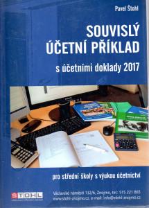 Souvislý účetní příklad s účetními doklady 2017