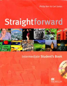 Straightforward: Intermediate Student's Book and CD-ROM