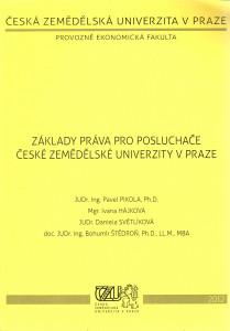 Základy práva pro posluchače  České zemědelské univerzity v Praze