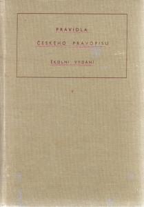 Pravidla českého pravopisu, školní vydání