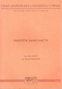 Investiční Bankovnictví