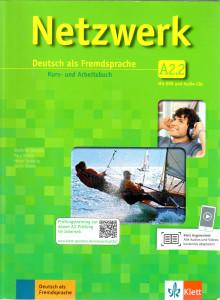 NETZWERK A2 TEIL 2 KURSBUCH und ARBEITSBUCH mit AUDIO CDs /2.