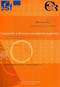 Financování a účetnictví neziskových organizací