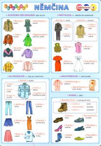 Obrázková němčina 4: Oblečení