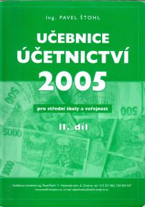 Učebnice účetnictví pro střední školy a veřejnost II. díl