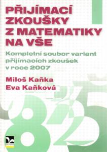 Přijímací zkoušky z matematiky na VŠE